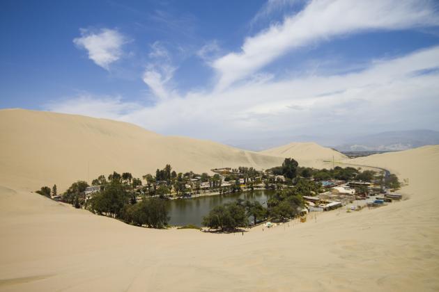 9 El desierto